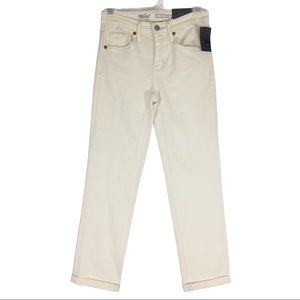 Mossimo High Rise Straight Crop Jean Size 00